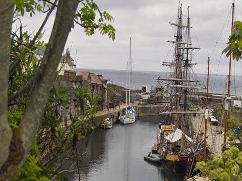 Charlestown Cornwall.  Poldark Filming Location.