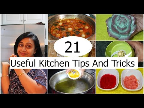 21 Useful Kitchen Tips And Tricks In Hindi | Kitchen Hacks |  Simple Living Wise Thinking