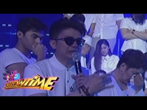 It's Showtime: Vhong Navarro tearfully gives his message for Franco