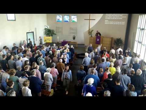 Intochtslied Palmpasen - Gereformeerde kerk Boven-Hardinxveld - 09-04-2017