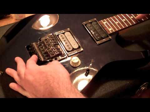 Ibanez RG Setup Guide Original Edge Tremolo YouTube - Ibanez Grg270 Wiring Diagram