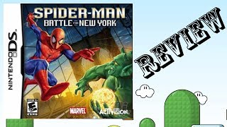 Spider-man: Battle For New York NDS Review