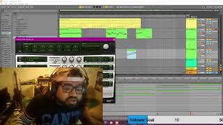 Making a bubblegum bass/hyper pop song live