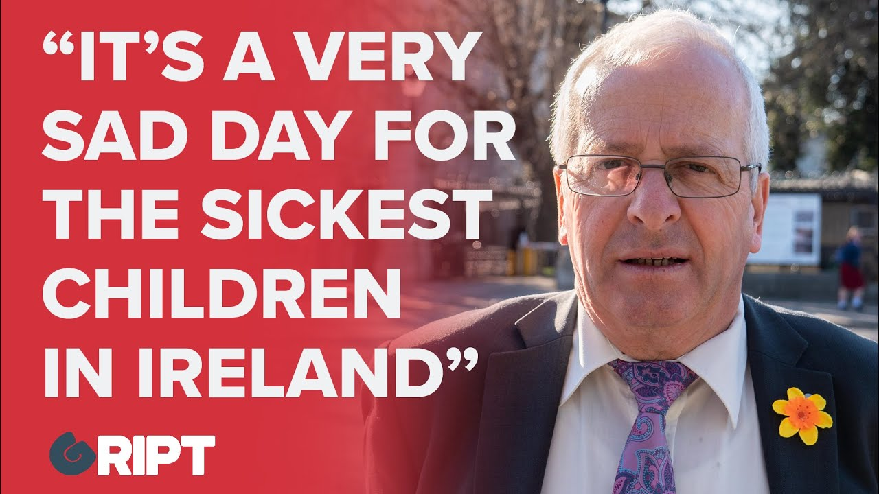 Mattie McGrath on the Children's Hospital debacle: Its a very sad day