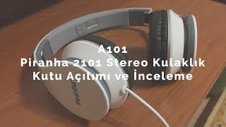 A101 | Piranha 20₺ 2101 Stereo Kulaklık Kutu Açılımı ve İncelemesi