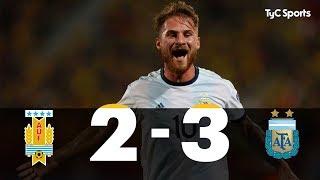 Preolímpico Sub-23: Argentina 3-2 Uruguay (RESUMEN Y GOLES)