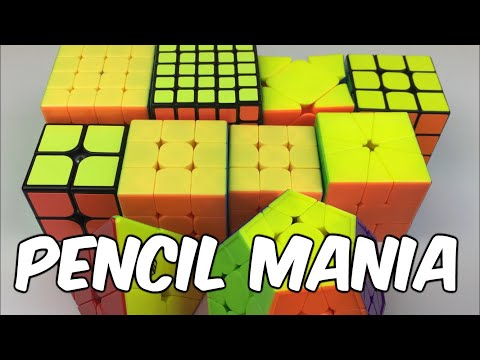Mains and Goals for Incredible Pencil Mania 2018   Cubing Competition