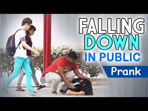Falling Down In Public | Prank Asia