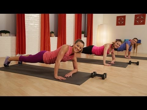 slim sexy and strong full body toning workout  class