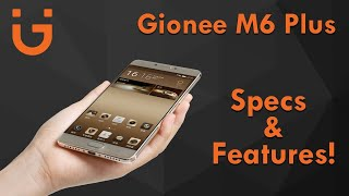 Gionee M6 Plus, First Look, Hands On, Launch - Tech Bazaar