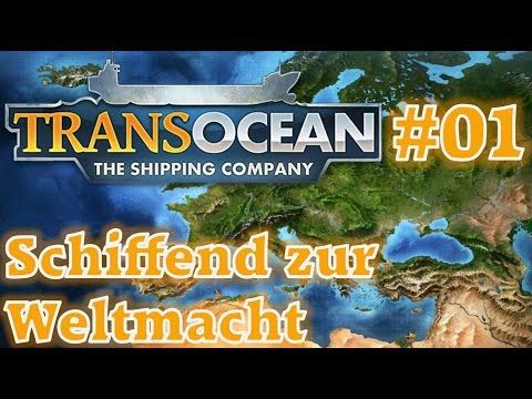 Schiffend zur Weltmacht ★ TRANS OCEAN #1 ★ Mini Let's play THE SHIPPING COMPANY |