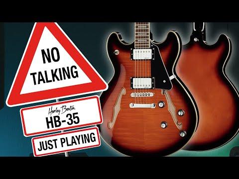 Harley Benton - No Talking - HB-35Plus - Just Playing -