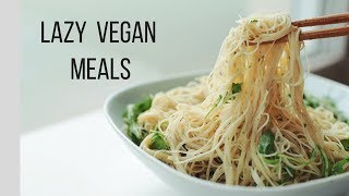 Vegan Meal Ideas for Lazy People! {healthy + easy}