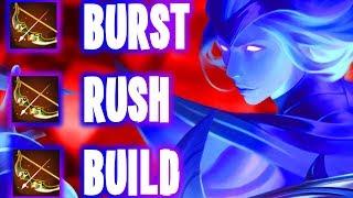 😼🍿CRAZY BURST RUSH BUILD (SELL JUNGLE) LINDIS (AoV | Garena RoV | Liên Quân Mobile | 傳說對決 | 펜타스톰)