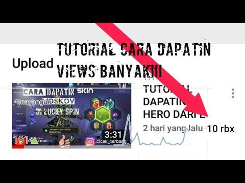 CARA MENDAPATKAN BANYAK VIEWERS DI YOUTUBE!!!  tutorial android joker man