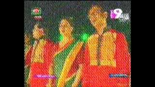 National Anthem rendered by singers at inaugural ceremony of 8th Bangaldesh Games