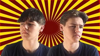 Fashionable Curtains Hairstyle (Leonardo Dicaprio, Cole Sprouse)