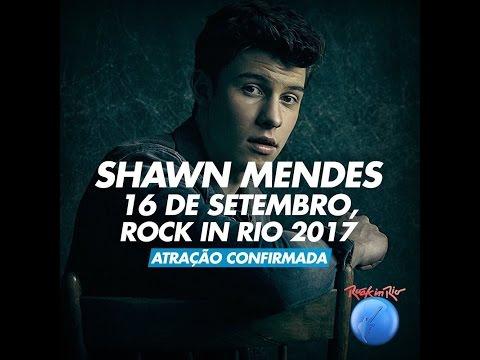 TUDO SOBRE SHAWN MENDES NO ROCK IN RIO...