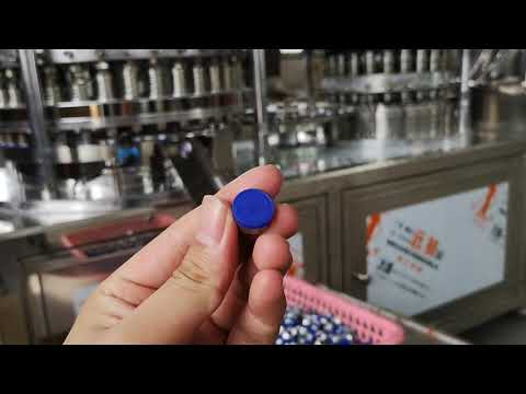 13mm button and rubber stopper assembly machine