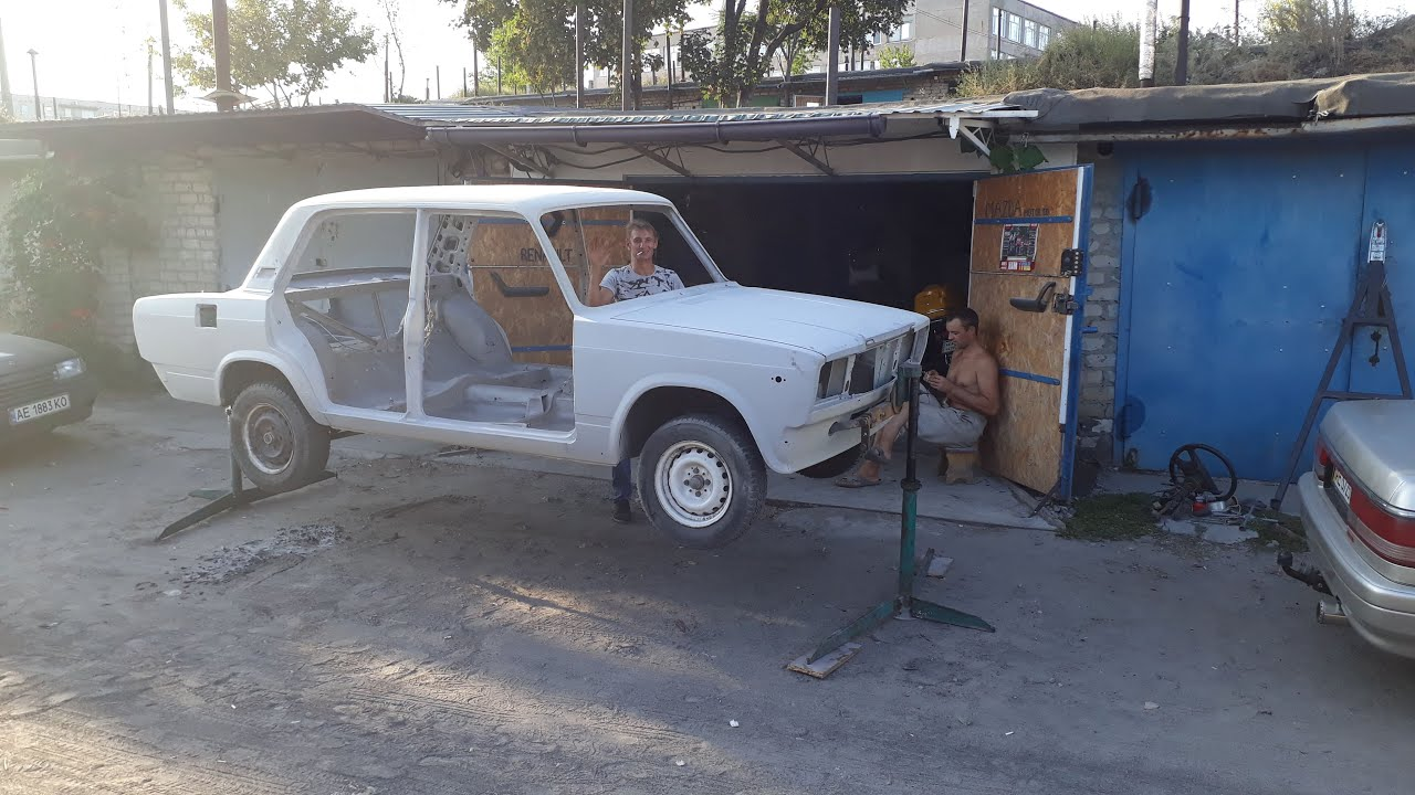 Капитальный ремонт кузова Ваз2107.Часть1-сварка