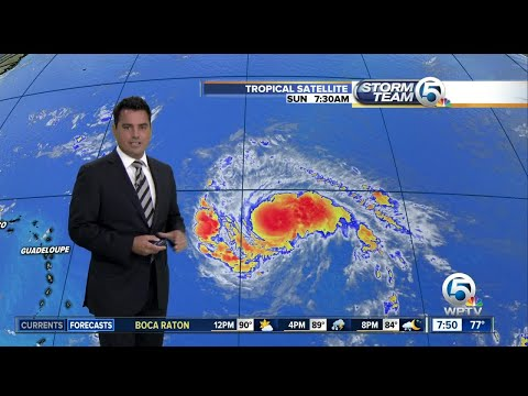 Hurricane Irma update 9/3/17 - 7am report