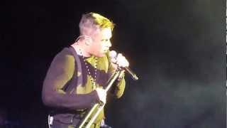 Robbie Williams - Karma Killer @ O2 Arena, Dublin - 14 sept 2012