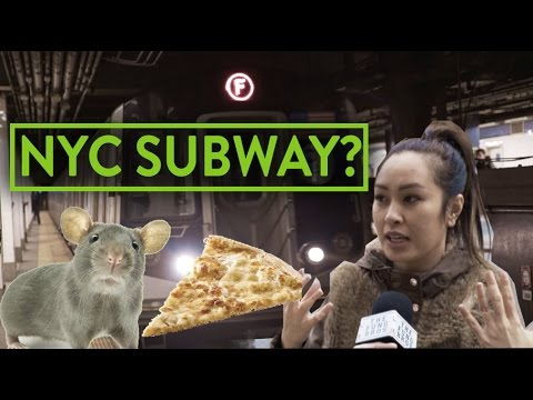 CRAZY STORIES FROM THE NEW YORK SUBWAY?!