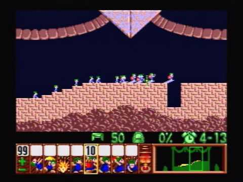 Lemmings (SNES) - 01 - Fun Levels (Part 1 of 3)