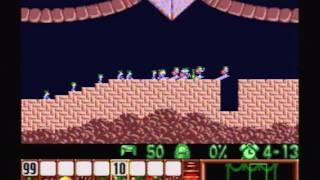 Lemmings (SNES) - 01 - Fun Levels (Part 1 of 3)
