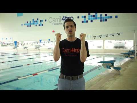 Ejercicios para mejorar la  velocidad al nadar de crol