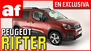 Peugeot Rifter | Review en exclusiva desde París