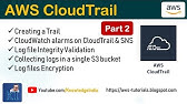 AWS Security Tutorial Part 3 CloudWatch Log Groups - YouTube