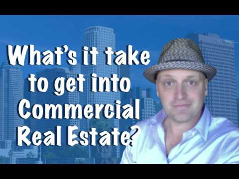 how to break into commercial real estate