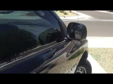94 Dodge Ram How To Tighten Up Side Mirrors Doovi
