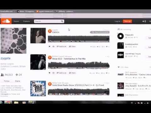 Descargar música desde cualquier página web