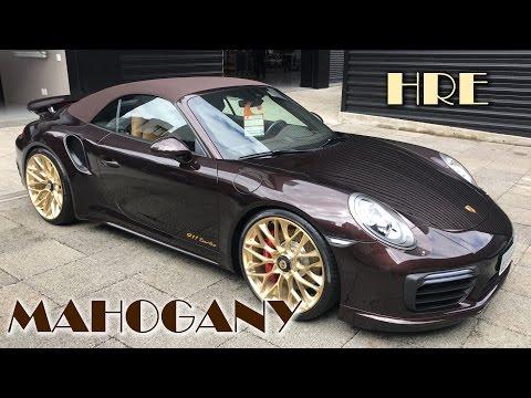 Porsche 911 Turbo cabriolet (Mahogany Metallic) - 22/04/17