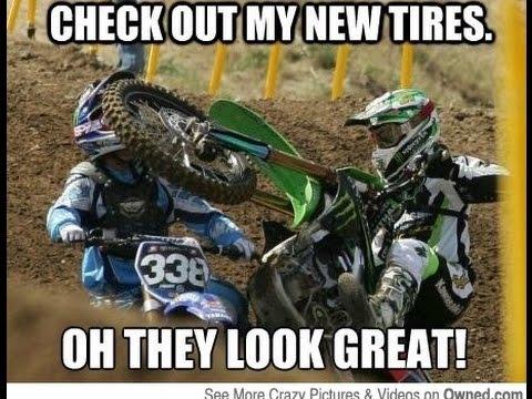 motocross v football