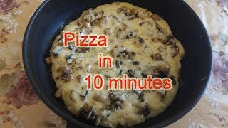 Pizza in 10 minutes