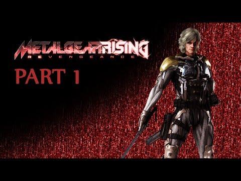 Metal Gear Rising: Revengeance (Very Hard New Game+) [Part 1: Guard Duty]