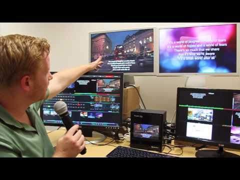 Repeat ProPresenter 5 Tutorial: Transparency & Keying in