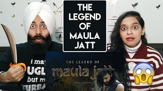 Indian Reaction on The Lagend Of Maula Jatt Trailer | Most Expensive Movie of Pakistan