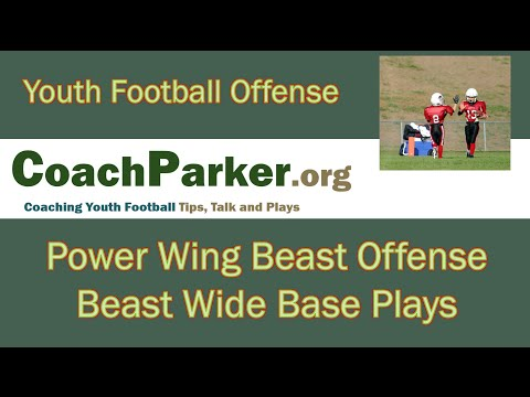 Beast Wide Run Plays - Youth Football Playbook by Coach Parker
