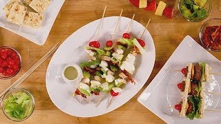 How to Serve Your Entire Meal on a Stick  Party Skewer Recipes  POPSUGAR Cookbook