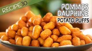 Potato Puffs or Pommes Dauphine
