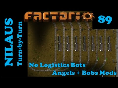 Factorio S6E89 - Loading stations for Crushed Ore