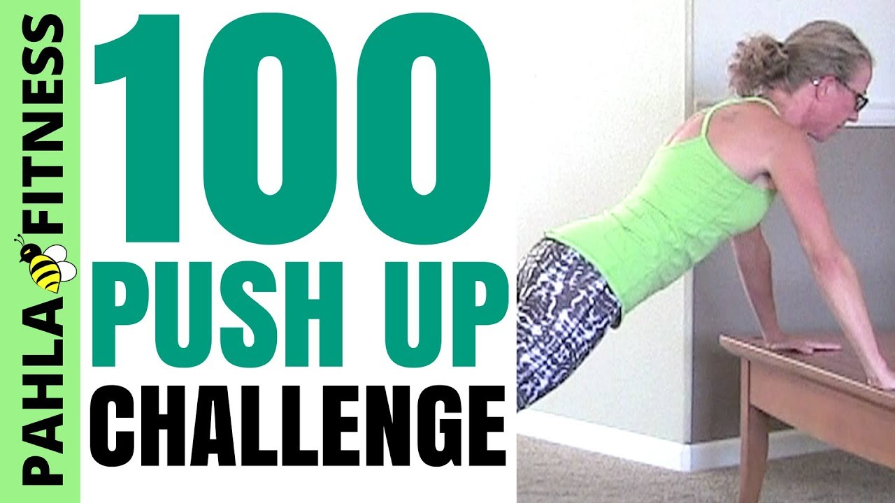 100 PUSH UP Challenge | 10 Minute Upper Body Workout with One Hundred  Push-Ups