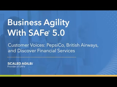 ­­Scaled Agile Announces General Availability of SAFe® 5.0 With Core Competencies for Enabling Business Agility
