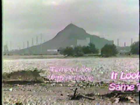 Tempe, AZ Flood 1980s