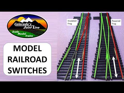 Peco Insulfrog VS Electrofrog Model Railroad Switches