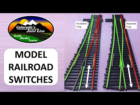 Peco Insulfrog VS Electrofrog Model Railroad Switches